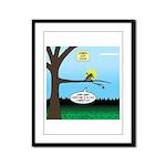 Lemming Leaf Coach Framed Panel Print