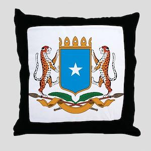 somalia Coat of Arms Throw Pillow