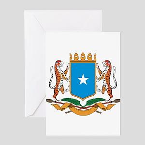 somalia Coat of Arms Greeting Card