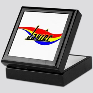 Javier's Power Swirl Name Keepsake Box