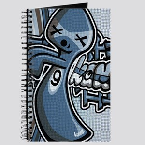 Ghost Mascot Tag Journal