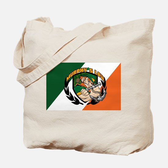 Murphy's Law Flag Tote Bag