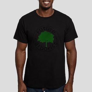 Future Arborist Men's Fitted T-Shirt (dark)