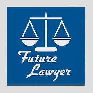 Future Lawyer Tile Coaster