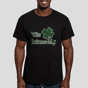 'Tis Himself Men's Fitted T-Shirt (dark)