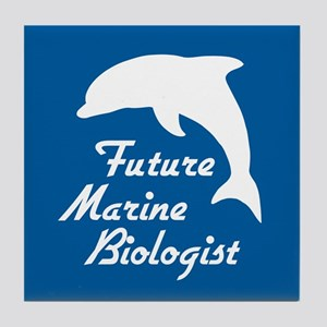Future Marine Biologist Tile Coaster