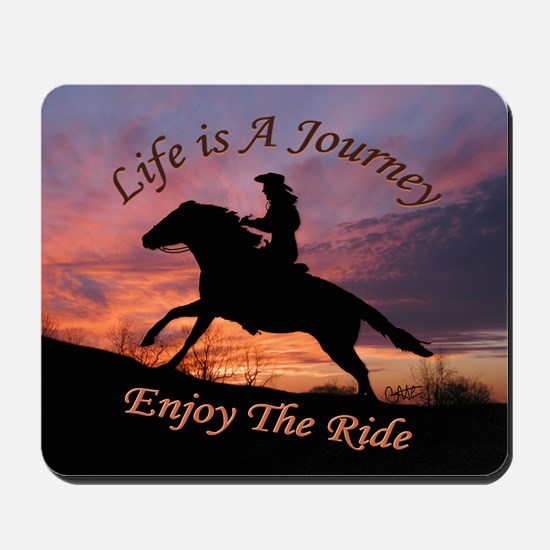 Life's Journey - Mousepad