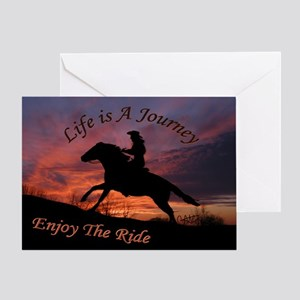 Life's Journey - Greeting Card
