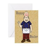 It's Bunny Man! Greeting Card