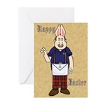 It's Bunny Man! Greeting Cards (Pk of 20)