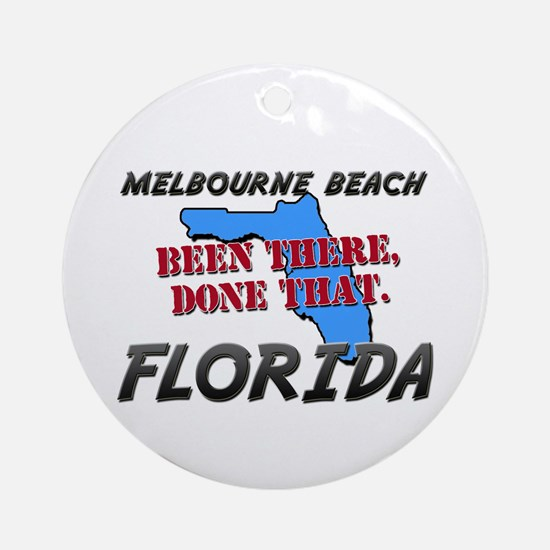 melbourne beach florida - been there, done that Or