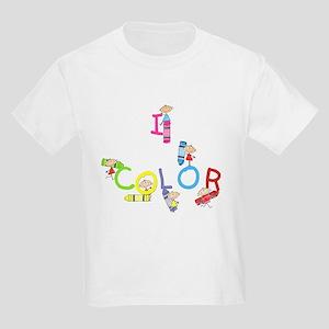 I Color Kids Light T-Shirt