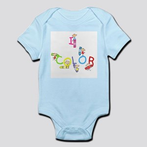 I Color Infant Bodysuit