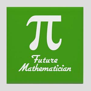 Future Mathematician Tile Coaster