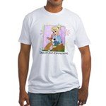 Corgis & Secrets Fitted T-Shirt