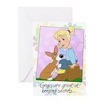Corgis & Secrets Greeting Cards (Pk of 10)