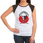 Pirates Women's Cap Sleeve T-Shirt