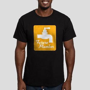 Future Plumber Men's Fitted T-Shirt (dark)