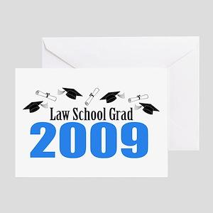 Law School Grad 2009 (Blue Caps And Diplomas) Gree