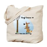 Corgi Lesson Tote Bag