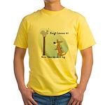 Corgi Lesson Yellow T-Shirt