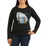 Corgi Lesson Women's Long Sleeve Dark T-Shirt