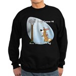Corgi Lesson Sweatshirt (dark)