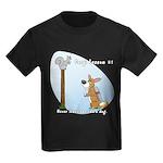 Corgi Lesson Kids Dark T-Shirt