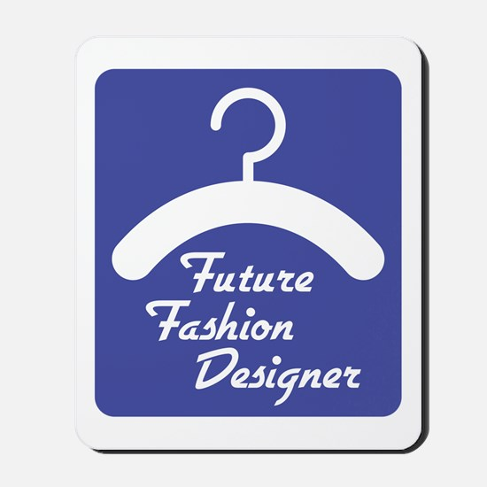Future Fashion Designer Mousepad