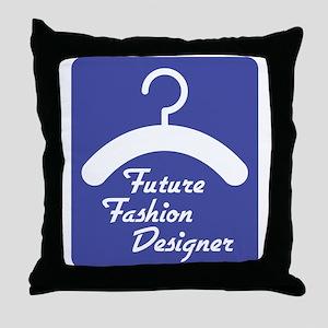 Future Fashion Designer Throw Pillow