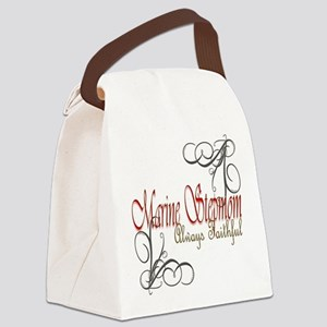 Swirl Stepmom Canvas Lunch Bag
