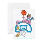 Ok-9 Inspiration (basketball) Greeting Cards (6)