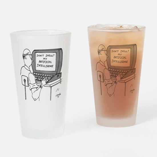 Artificial Intelligence Cartoon 193 Drinking Glass