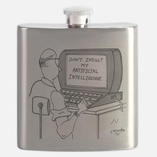 Artificial Intelligence Cartoon 1931 Flask