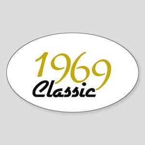 1969 Classic Oval Sticker
