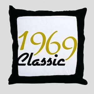 1969 Classic Throw Pillow