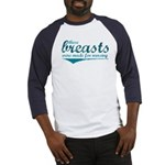 Nursing Breasts - Baseball Jersey