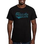 Nursing Breasts - Men's Fitted T-Shirt (dark)