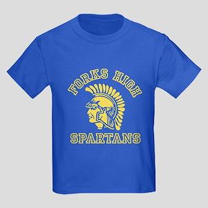 Forks High Spartans - Twilight Kids Dark T-Shirt