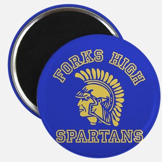 Forks High Spartans - Twilight Magnet