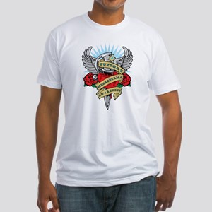 Scleroderma Dagger Fitted T-Shirt