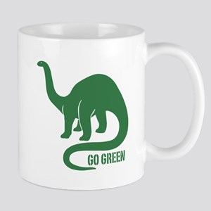 Go Green Dinosaur Mug