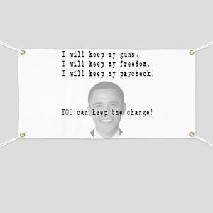 Keep the Change Banner