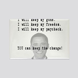Keep the Change Rectangle Magnet