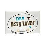 Dog Lover Rectangle Magnet (100 pack)