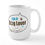Dog Lover Large Mug