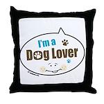 Dog Lover Throw Pillow