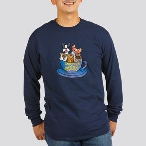 Teacup Agility Long Sleeve Dark T-Shirt