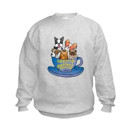 Teacup Agility Kids Sweatshirt