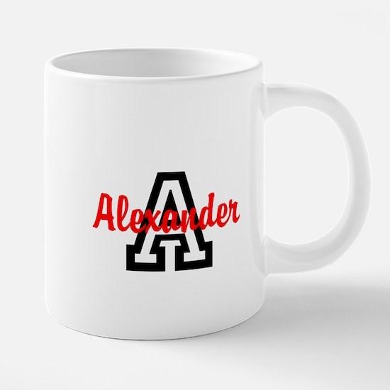 Personalized Monogrammed 20 oz Ceramic Mega Mug
